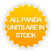 All Panda Units are in stock